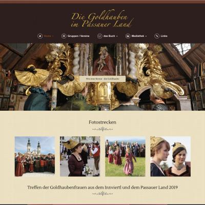 Homepage Goldhauben Passauer Land