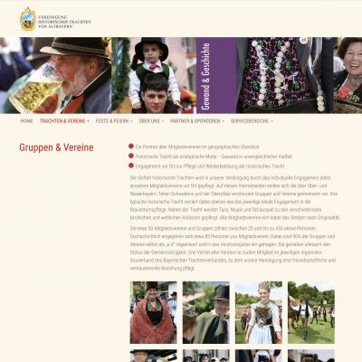 Homepage Historische Trachten